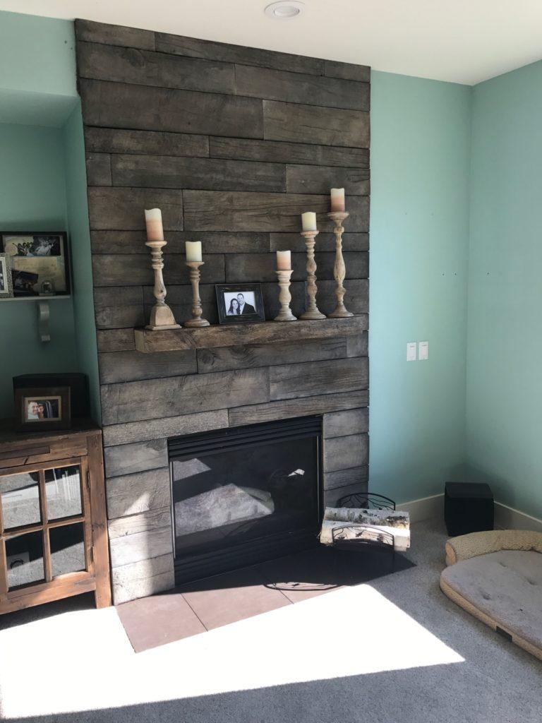 barnwood stone fireplace by wilson masonry