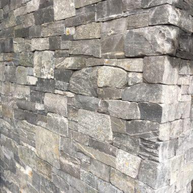Drystacked Natural Stone